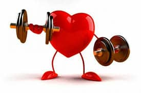 Red Heart Weightlifting