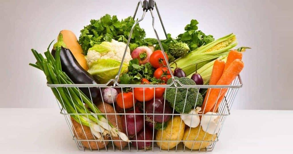 Fresh Veg In A Basket