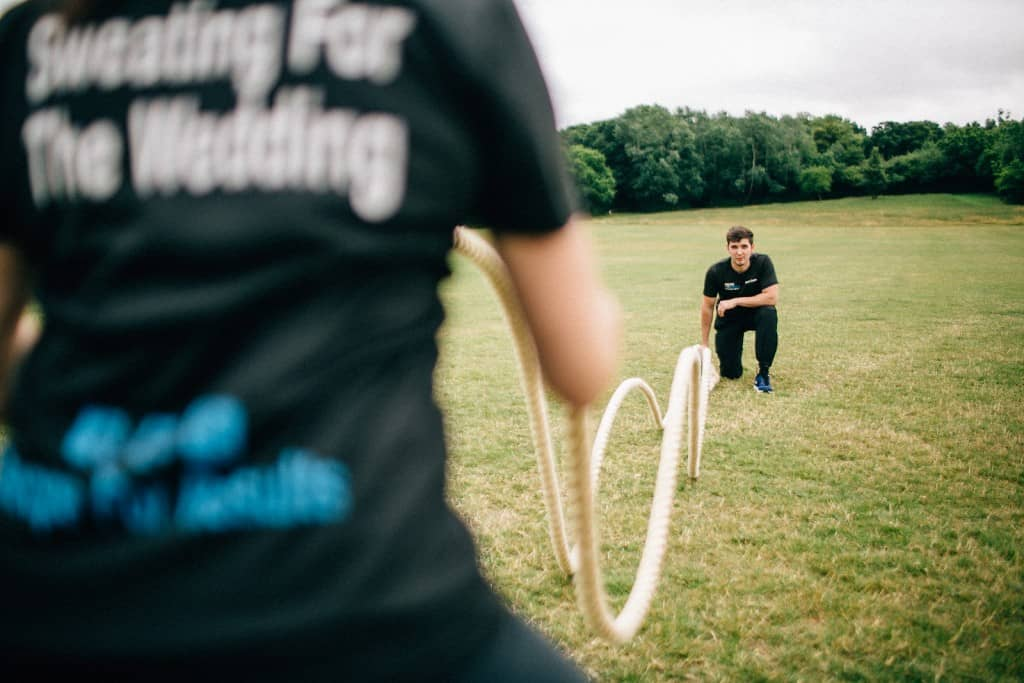 Ropes Personal Training Workout