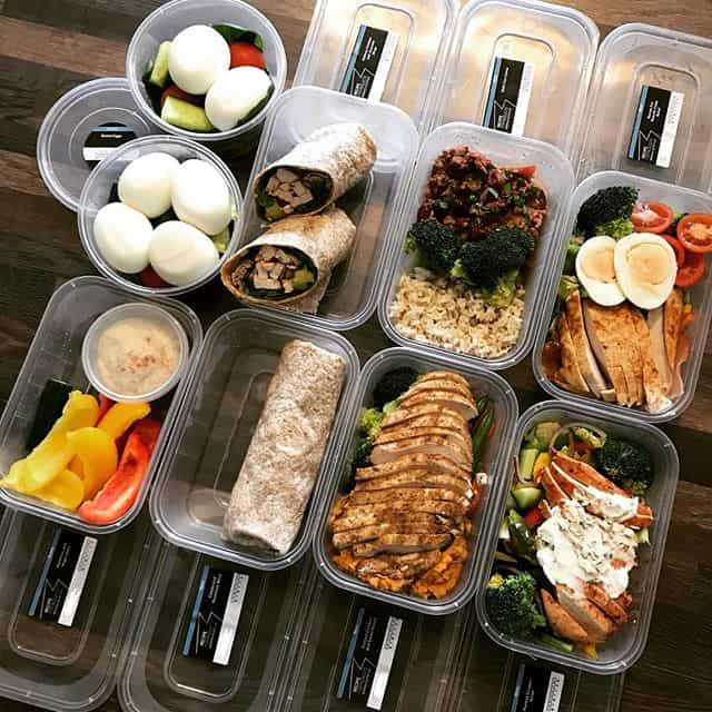 A Whole Days Worth Of Meal Prep In Essex